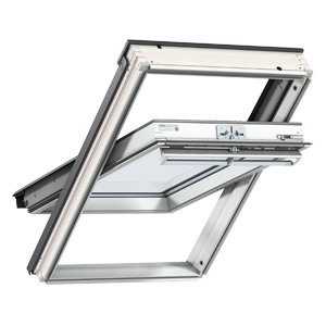 Ventanas de tejado de apertura giratoria